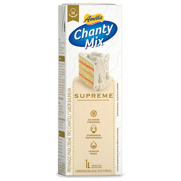 Amélia Chanty Mix Supreme Chantilly